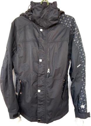 Куртка лыжная nitro diamond мембрана 8000 с капюшоном размер m