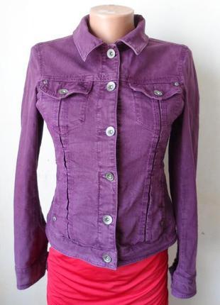 Пиджак джинсовый красивый жакет! размер м esprit