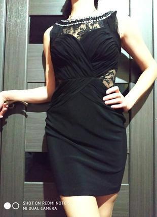 Платье из плотного стрейча