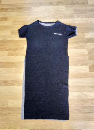 Длинная футболка с разрезами
