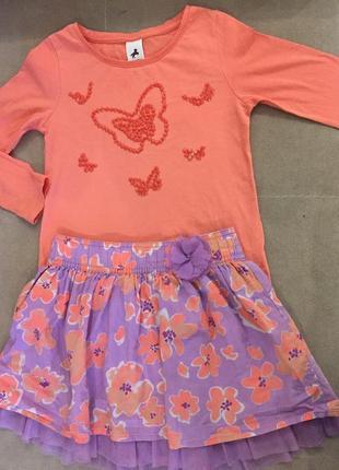 Красивая кофточка с бабочками c&a palomino