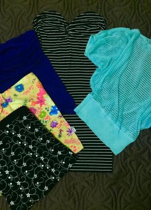 Микс одежды топы платье р-р xs s