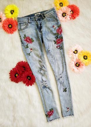 Фірмові італійські джинси glamoo
