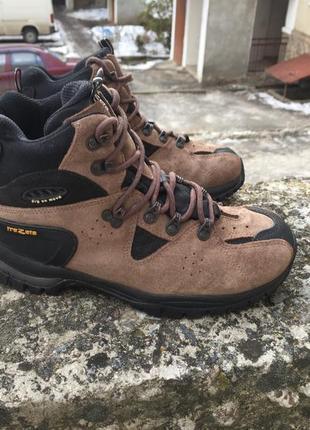 Оригинальные зимние кожаные мембранные ботинки trezeta