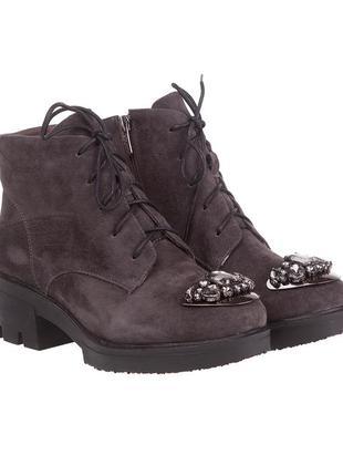 900ц женские ботинки polann,замшевые,на толстом каблуке,на низком ходу,на каблуке