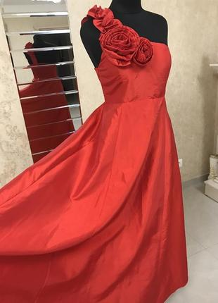 Вечернее платье миди