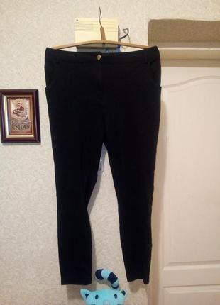 Плотные трикотажные брюки пот 57