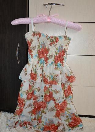 Легкое летние платье