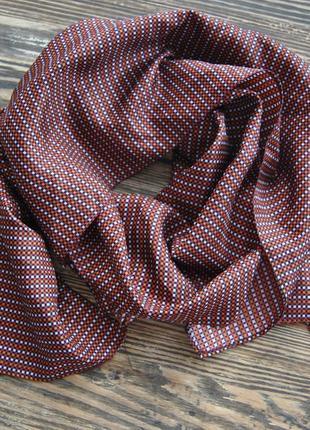 Шелковый шарф платок / шовковий шарф