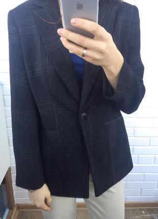 Супер удлиненный пиджак жакет блейзер геометрический рельефный принт2 фото