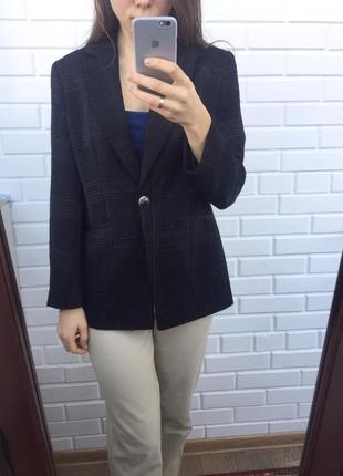 Супер удлиненный пиджак жакет блейзер геометрический рельефный принт3 фото