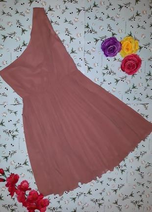 Шикарное нарядное платье на одно плечо mango, размер 44 - 46