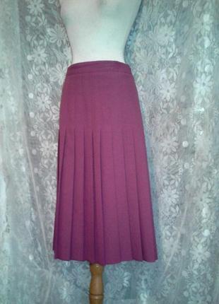 Красивая юбка в складку,xl.