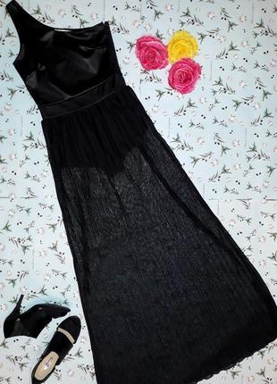 Фирменное нарядное вечернее длинное платье miss selfridge на одно плечо, размер 42-44