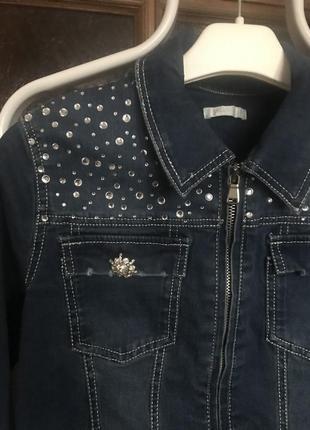 Пиджак джинсовый microbe