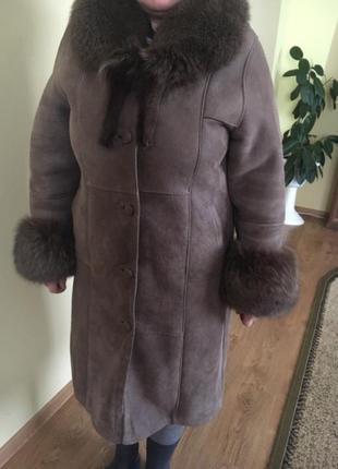 Дубльока дубленка пальто шуба натуральная натуральна