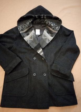 Шерстяное пальто rudolf scherer, оверсайз