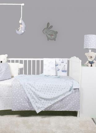 Комплект постельного белья в детскую кроватку cigitkids