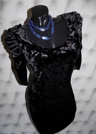 ♥маленькое черное бархатное платье♥