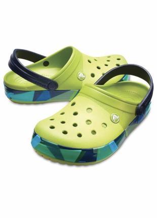 Классические сабо crocs