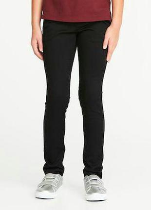 Новые черные брюки-скинни old navy на девочку в школу, школьная форма, р. 14 лет.