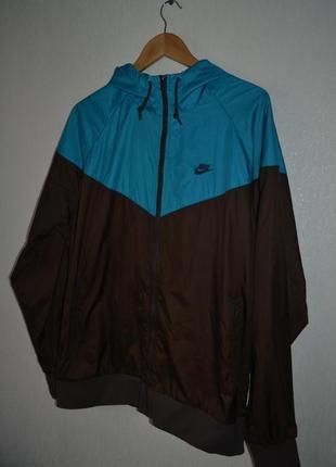 Мужская куртка ветровка спортивка найк