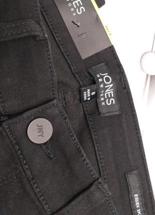 Jones new york оригинал 27 и 28 черные узкие джинсы скинни средняя посадка бренд из сша2 фото