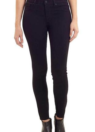 Jones new york оригинал черные узкие джинсы скинни средняя посадка бренд из сша