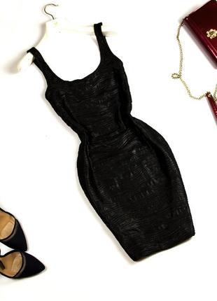 Нарядное платье мини по фигуре с вырезом на спинке в обтяжку mango s