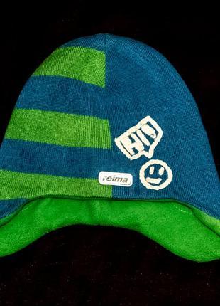 Супер шапка для мальчика reima