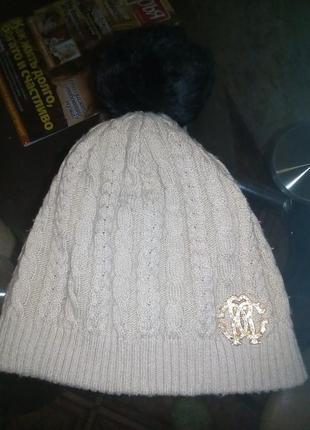 ❄❄⛄милая шапка шапочка натуральный балабошка❄