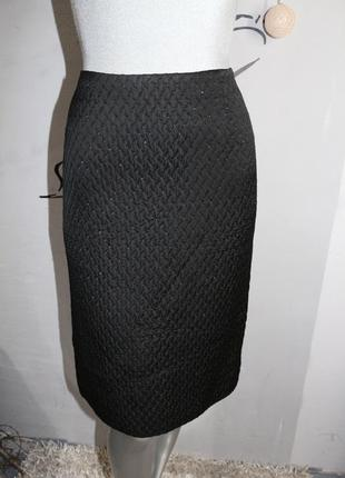 Черная миди юбка akris
