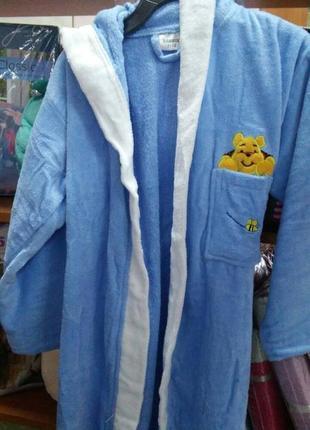 Детский махровый халат,8-10лет