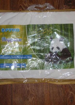 Мягкая и удобная подушечка для новорожденных с наполнителем из бамбукового волокна.
