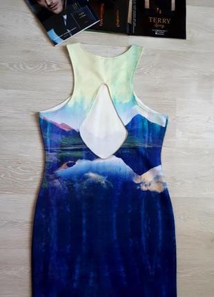 Яркое платье h&m / 2я вещь в подарок
