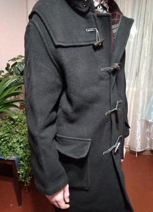 Пальто шерстяное английское оригинальное