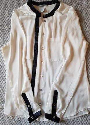Блузка из легкой атласной ткани  h&m