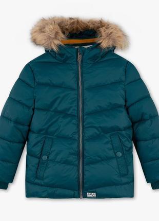 Детская зимняя куртка для мальчика 6-8 лет c&a palomino германия размер 128