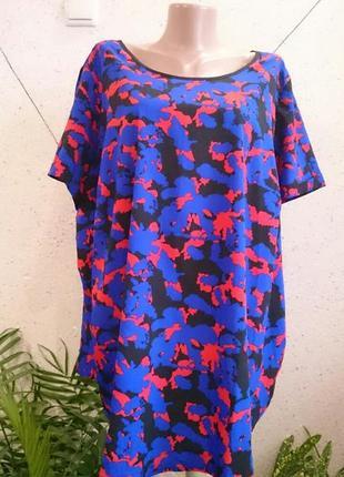 Красивая блуза большой размер2