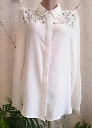 Шикарная красивая блуза со звездами 10-141