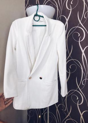 Пиджак блейзер удлинённый