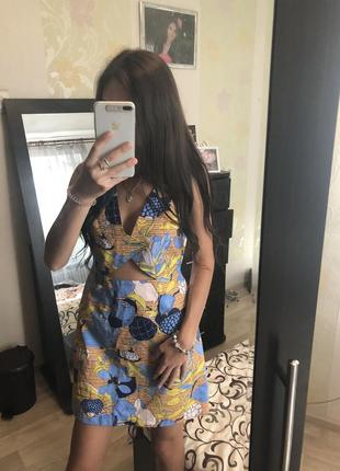 Новое платье s/m !!! zara