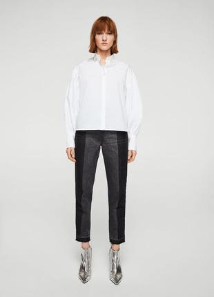 Шикарные джинсы mom fit с высокой посадкой mango, 38, 40р, испания