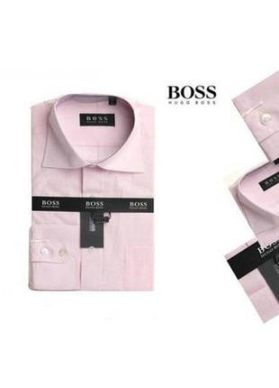 Мужская рубашка hugo boss regular fit /100%-оригинал!!!