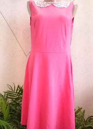 Красивое платте с воротничком1 фото