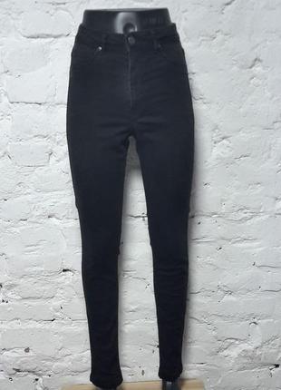 Базовые джинсы скинны высокая посадка2