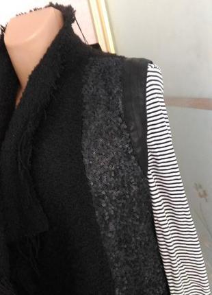 Стильная, шикарная жилетка буклированная ткань) пог 46 от simply city2 фото