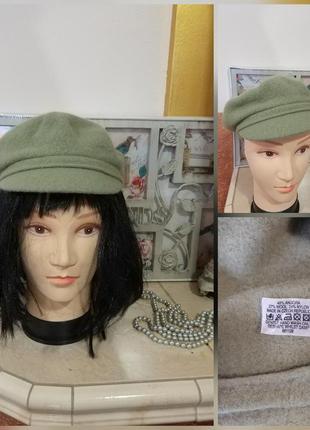 Фирменная стильная качественная натуральная кепка .1