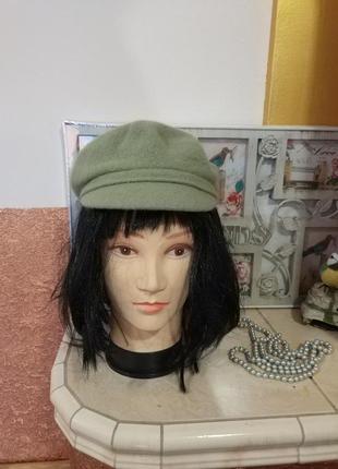Фирменная стильная качественная натуральная кепка .2