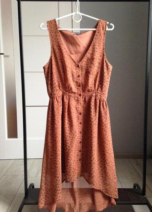 Шикарное платье сарафан размер м в идеале1